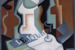 Botella y frutero, 1919. Juan Gris. (photo: )