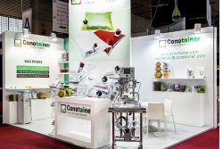 Expositor de Conotainer en Alimentaria 2016. (photo: )