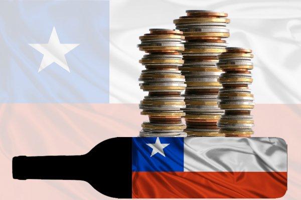 De aprobarse el proyecto, el impuesto llegaría a 440 pesos/litro, según Vinos de Chile. (photo: )
