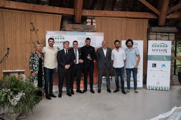 Ganadores del Premio Gla d'Or de AECORK. (photo: )
