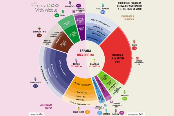 3d47c46b7    ACTUALIZAMOS    Seguimos con la serie de infografías del sector  vitivinícola español. Presentamos en esta ocasión una visión de la  distribución del ...