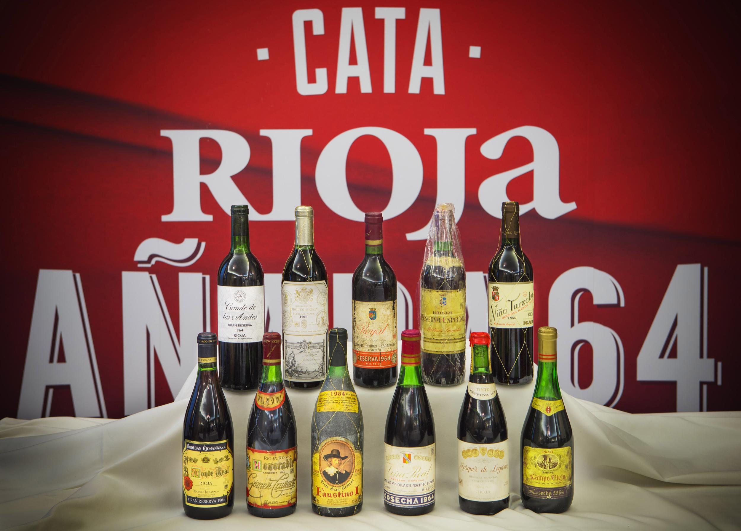 ¿Qué hacías en el 64? Celebración del medio siglo de una cosecha mítica en la D.O.Ca. Rioja